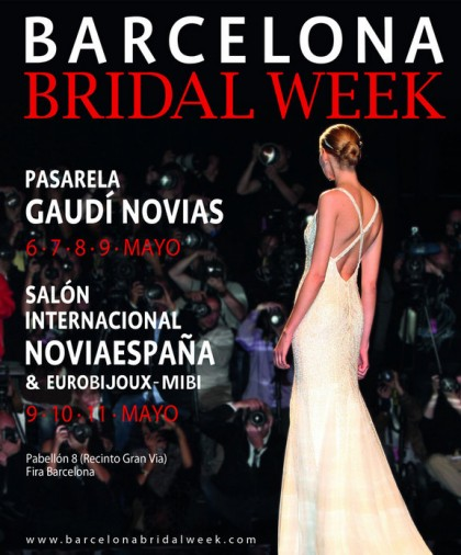 Cartel Barcelona Bridal Week 2014